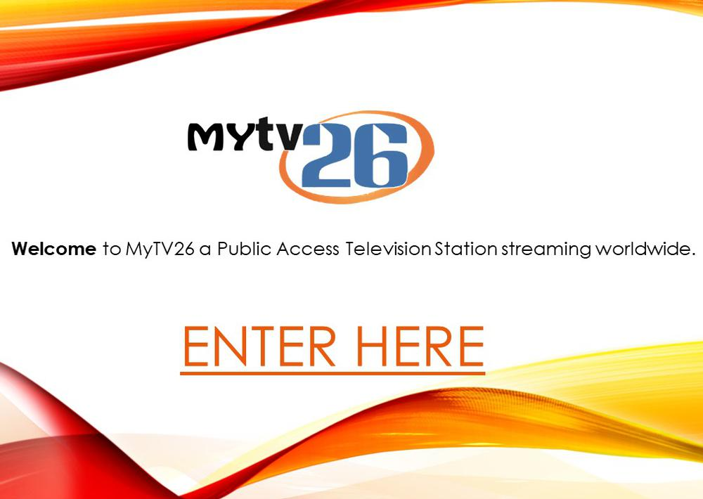 mytv26 front enter page